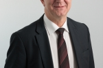 Le Conseiller d'Etat Georges Godel en charge de la Direction des finances