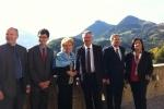 Accueil du président polonais et de la présidente suisse à Gruyères